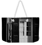 Rue Dauphine French Quarter New Orleans-monochrome Weekender Tote Bag