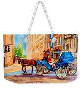 Rue Notre Dame Caleche Ride Weekender Tote Bag