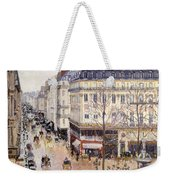 Rue Saint Honore Afternoon Rain Effect Weekender Tote Bag