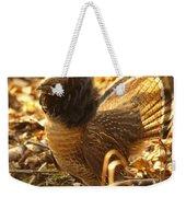 Ruffed Grouse Display Weekender Tote Bag