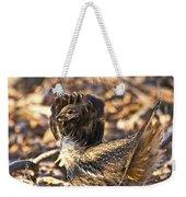Ruffed Grouse Ruff Weekender Tote Bag