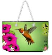 Rufus Hummingbird Weekender Tote Bag