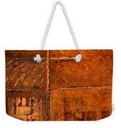 Rugged Cross Weekender Tote Bag