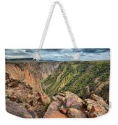 Rugged Edge Of The Canyon Weekender Tote Bag