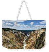 Rugged Lower Yellowstone Weekender Tote Bag