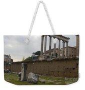 Ruins In The Roman Forum Rome Italy Weekender Tote Bag