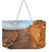 Ruins Of A Fort, Masada, Israel Weekender Tote Bag