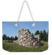 Ruins Of A Stone Silo Weekender Tote Bag