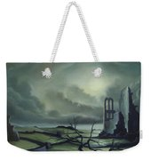 Ruins Of Cathedra Weekender Tote Bag