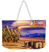 Ruins Of Fort James B. Polka And Prototype Gatling Tubas Weekender Tote Bag