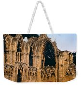 Ruins Of St. Mary's Abbey Weekender Tote Bag