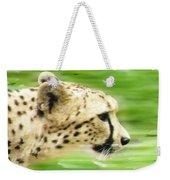 Run Cheetah Run Weekender Tote Bag