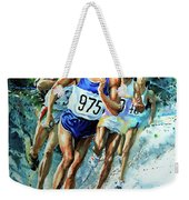 Run For Gold Weekender Tote Bag