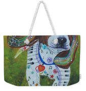 Run Into The Music Weekender Tote Bag