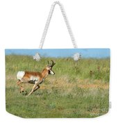 Run  Light Buck  Run Weekender Tote Bag