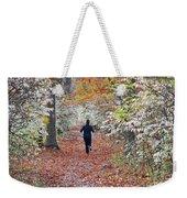Run Through The Woods Weekender Tote Bag