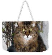 Runcius- Palm Sunday Kitty Weekender Tote Bag