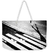 Runner's Shadow Weekender Tote Bag