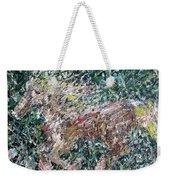 Running Beauty - Oil Painting Portrait Weekender Tote Bag