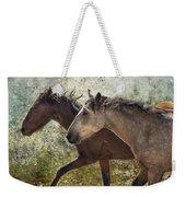 Running Free - Pryor Mustangs Weekender Tote Bag