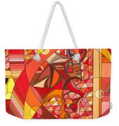 Running Of The Bulls Weekender Tote Bag by Christopher Page