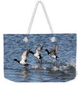 Running On Water Weekender Tote Bag