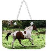 Running Pinto Horse Weekender Tote Bag
