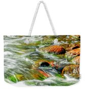 Running River Weekender Tote Bag