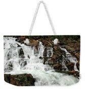 Running Water Glen Alpine Falls Weekender Tote Bag