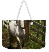 Running White Colours Weekender Tote Bag