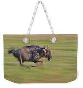 Running Wildebeest IIi Weekender Tote Bag