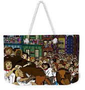 Running With The Bulls 1 Weekender Tote Bag