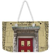 Runnymede Library Weekender Tote Bag