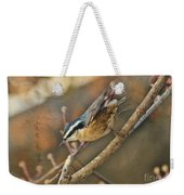 Runway Clear For Takeoff   Redbreasted Nuthatch Weekender Tote Bag