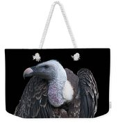 Ruppel's Griffon On Black Weekender Tote Bag