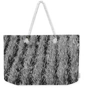 Rural America Black And White Weekender Tote Bag