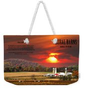Rural Barns By Randall Branham Weekender Tote Bag