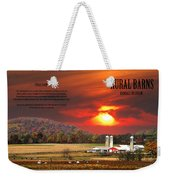 Rural Barns  My Book Cover Weekender Tote Bag