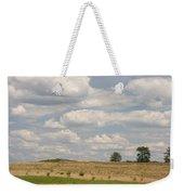 Rural Field Landscape In Maryland Weekender Tote Bag