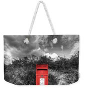 Rural Post Box Weekender Tote Bag by Mal Bray