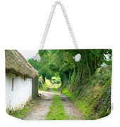 Rural Road Weekender Tote Bag