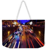 Rush Hour Traffic On North Capitol Show Weekender Tote Bag