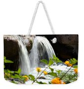 Rushing Along Weekender Tote Bag