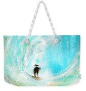 Rushing Beauty- Surfing Art Weekender Tote Bag