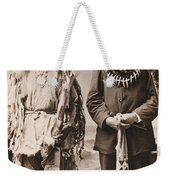 Rushing Eagle Weekender Tote Bag