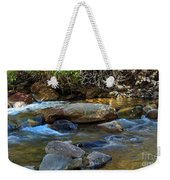 Rushing Mountain Stream Weekender Tote Bag