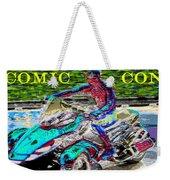 Rushing To Comic Con Weekender Tote Bag