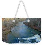 Rushing Vickery Creek Weekender Tote Bag