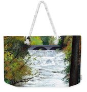 Rushing Water - Quiet Thoughts Weekender Tote Bag
