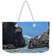 Rushing Wave - Big Sur Weekender Tote Bag